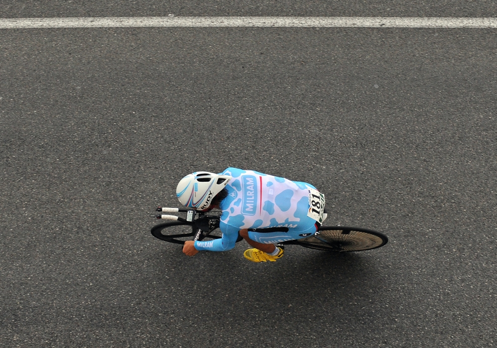 15. MONAKO: Linus Gerdemann (Niemcy) podczas etapu rozegranego 4 lipca. (Foto: Jasper Juinen/Getty Images)