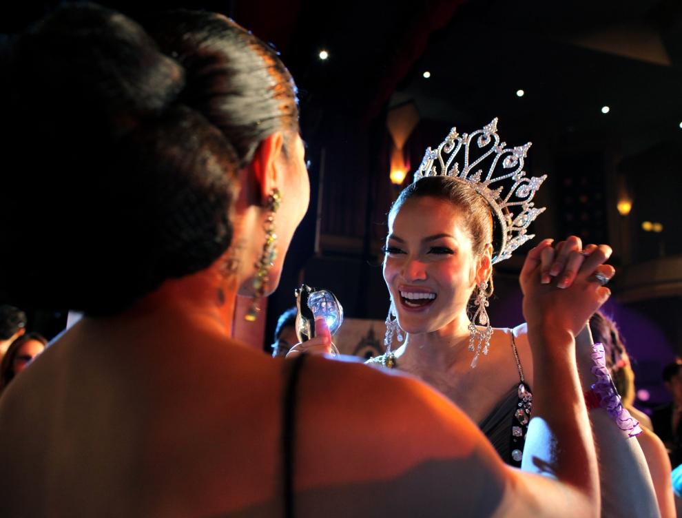 22. TAJLANDIA, Pattaya: Sorrawee Nattee ciesząca się ze zwycięstwa. (Foto: Paula Bronstein/Getty Images)