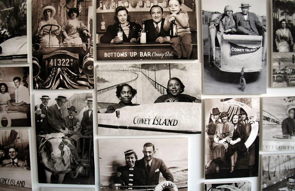 30. NOWY JORK, Brooklyn: Stare fotografie przedstawiające Coney Island. (Foto: Mario Tama/Getty Images)
