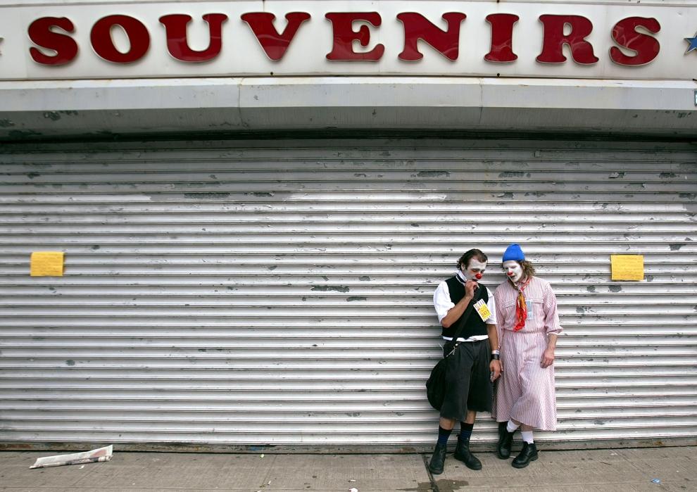7. NOWY JORK, Brooklyn: Uczestnicy corocznego Dnia Cyrku na Coney Island. (Foto: Mario Tama/Getty Images)