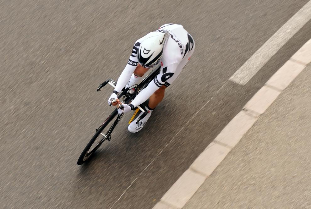 9. MONAKO: Triumfator ubiegłorocznej edycji Tour de France, Carlos Sastre (Hiszpania). (Foto: Jasper Juinen/Getty Images)