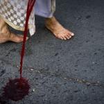 Krwawy bezkrwawy protest