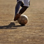 Afrykańskie serce do piłki