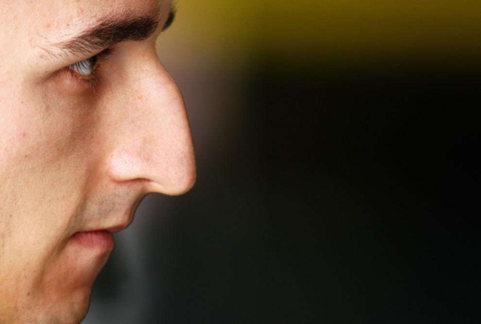 30. KOREA POŁUDNIOWA, Yeongam Gun, 22 października 2010: Robert Kubica przed startem do wyścigu o Grand Prix Korei. (Foto: Paul Gilham/Getty Images)