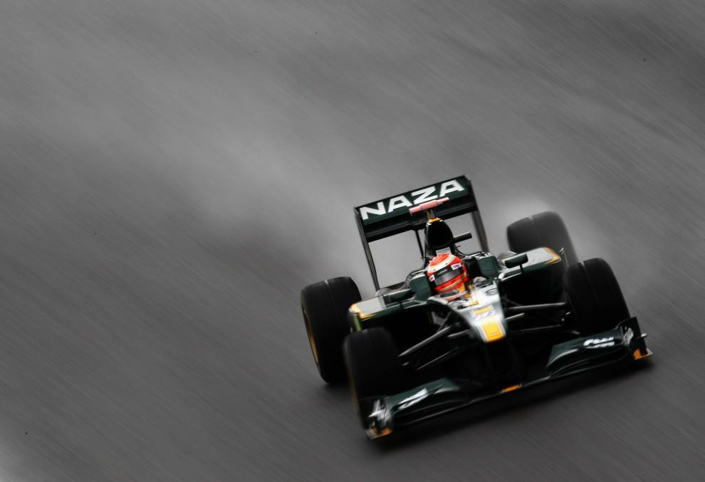 34. BRAZYLIA, Sao Paulo, 6 listopada 2010: Jarno Trulli podczas kwalifikacji na torze Interlagos. (Foto: Paul Gilham/Getty Images)