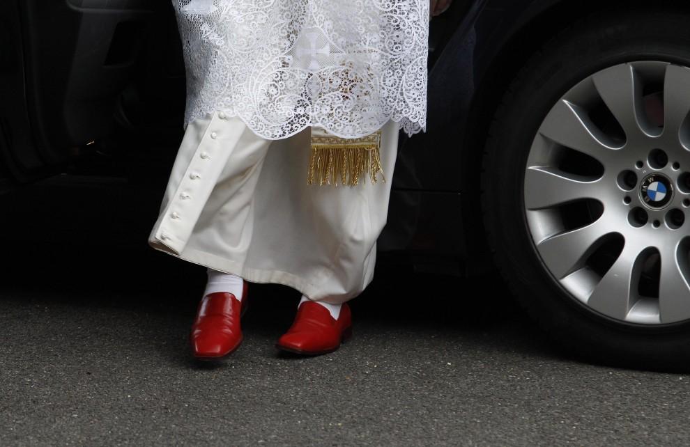 31. WIELKA BRYTANIA, Londyn, 17 września 2010: Papież Benedykt XVI w trakcie wizyty w Wielkiej Brytanii. (Foto: Stefan Wermuth/WPA Pool/Getty Images)