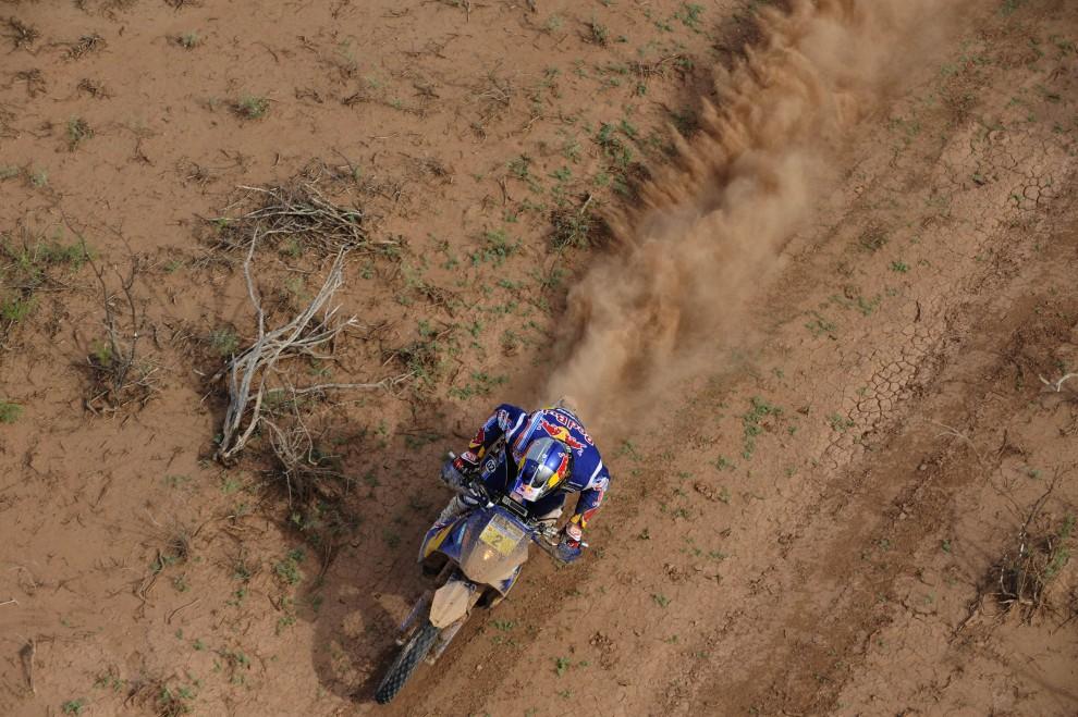 21. ARGENTYNA, San Juan, 14 stycznia 2011: Francuz Cyril Despres na motocyklu KTM. AFP PHOTO / Daniel GARCIA