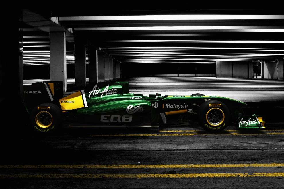 29. WIELKA BRYTANIA, Norfolk, 31 stycznia 2011: T128 – nowy bolid zespołu Lotus. (Foto:  Lotus via Getty Images)