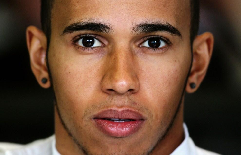 24. AUSTRALIA, Melbourne, 25 marca 2011: Lewis Hamilton na torze Albert Park Circuit. (Foto: Paul Gilham/Getty Images)