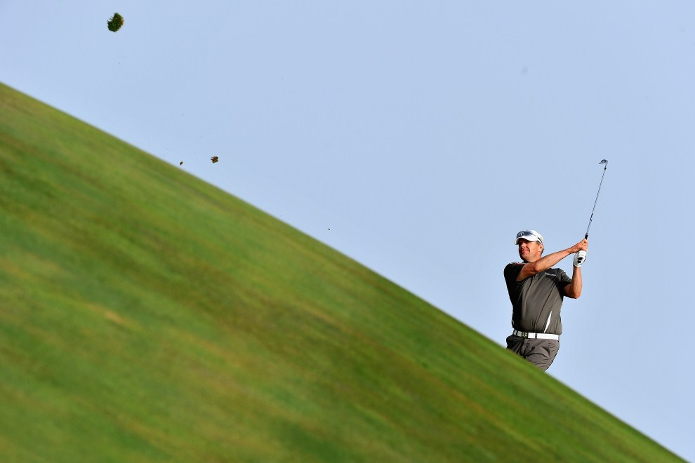 23. MAROKO, Agadir, 2 kwietnia 2011: Szwed Joakim Haeggman podczas turnieju golfowego Trophee du Hassan II. (Foto: Stuart Franklin/Getty Images)