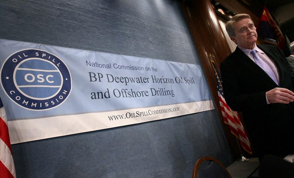 3. USA, Waszyngton, 11 stycznia 2011: Konferencja prasowa z udziałem wiceprzewodniczącego OSC. Win McNamee/Getty Images/AFP