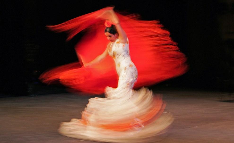 """11. WIELKA BRYTANIA, Londyn, 23 lutego 2007: Tańcząca Eva Garrido """"La Yerbabuena"""". AFP PHOTO/CARL DE SOUZA"""