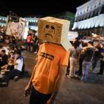 Protesty w Hiszpanii