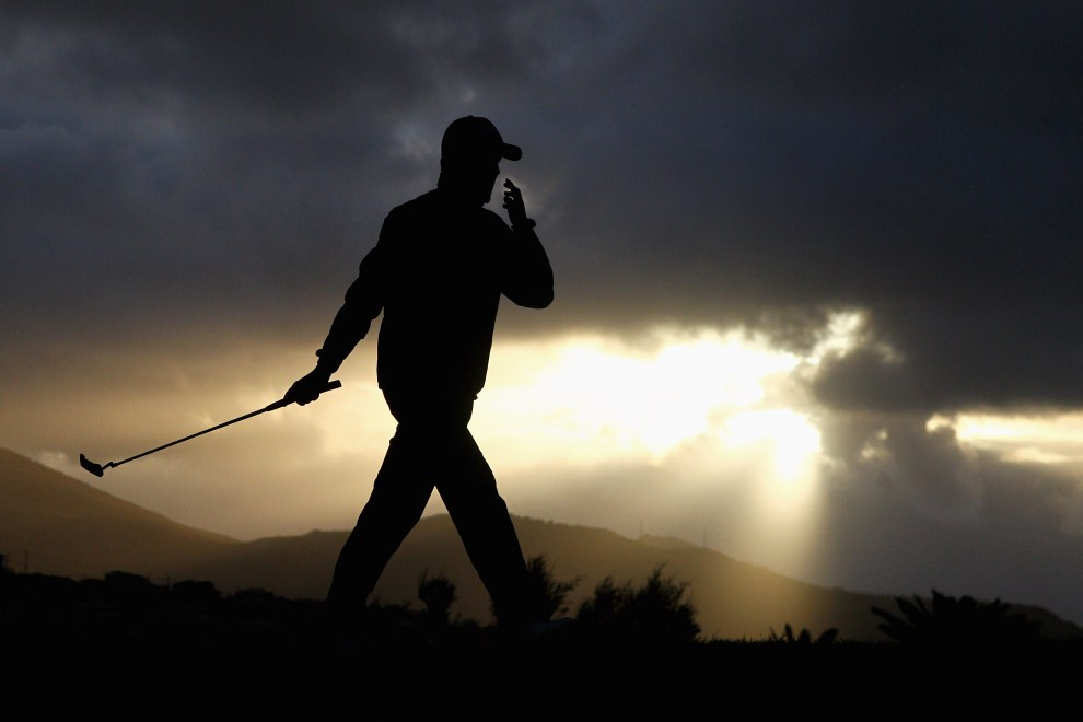 26. PORTUGALIA, Porto Santo, 20 maja 2011: Golfista podczas turnieju Madeira Islands Open. (Foto: Dean Mouhtaropoulos/Getty Images)