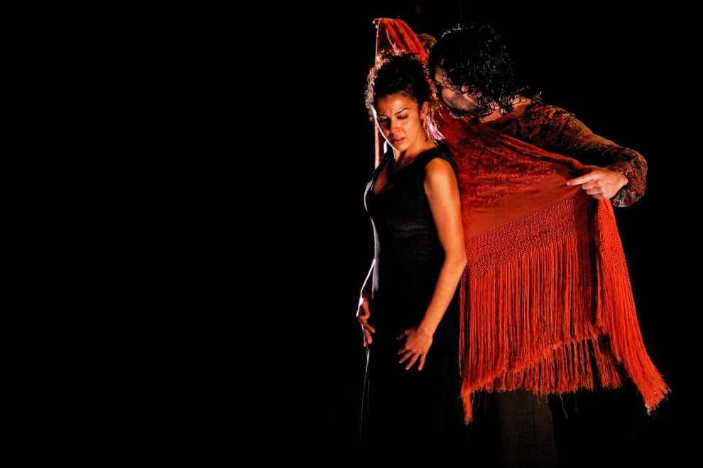 9. HISZPANIA, Jerez, 5 marca 2007: Występ tancerzy flamenco z grupy Angeles Gabaldon´s Company. AFP PHOTO/ JOSE LUIS ROCA