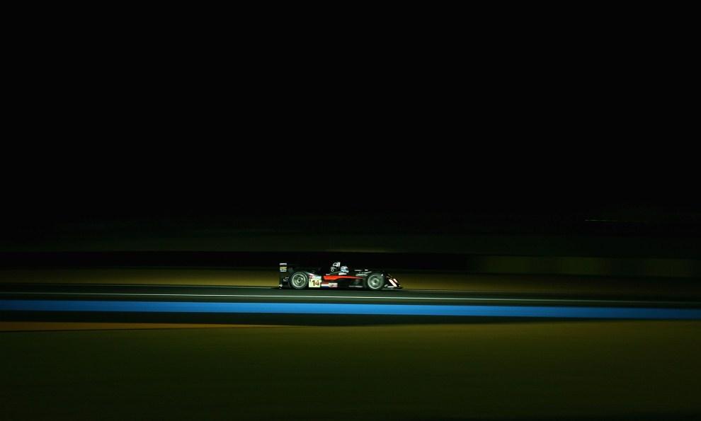 12. FRANCJA, Le Mans, 13 czerwca 2007: Holender Jeroen Bleekemolen podczas kwalifikacji do wyścigu. (Foto:  Ryan Pierse/Getty Images)