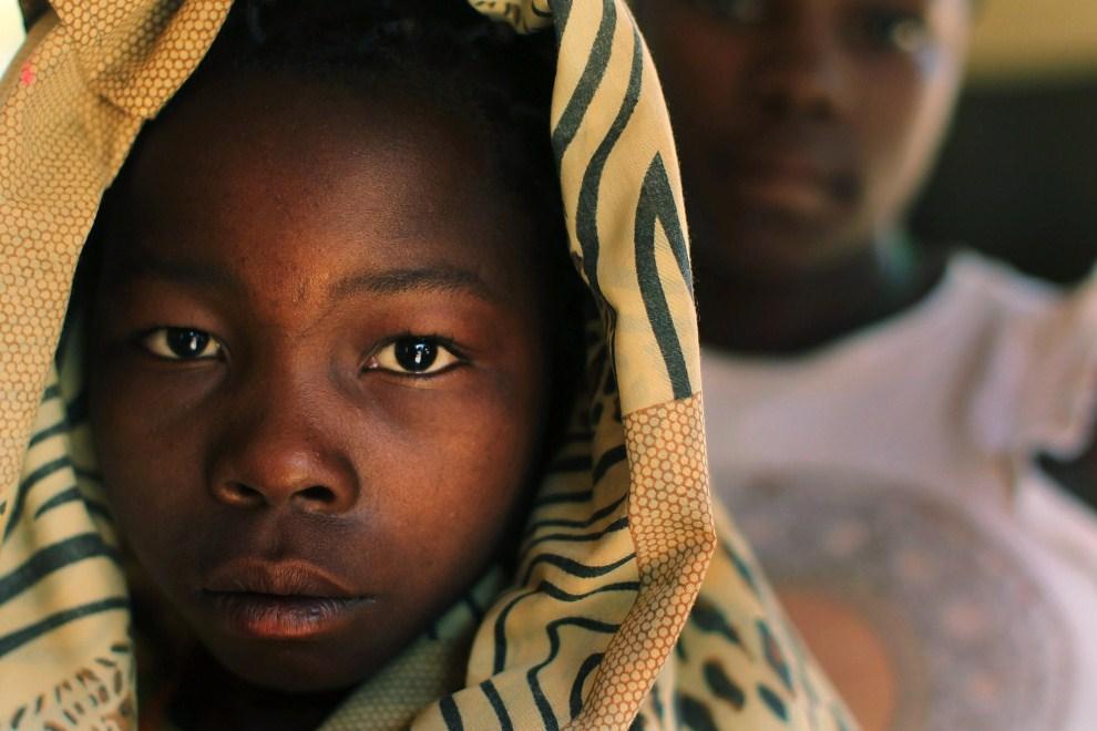 20. SUDAN, Jambio, 13 stycznia 2011: Simba (14 lat) jedno z dzieci porwanych przez żołnierzy Armia Bożego Oporu. (Foto: Spencer Platt/Getty Images)