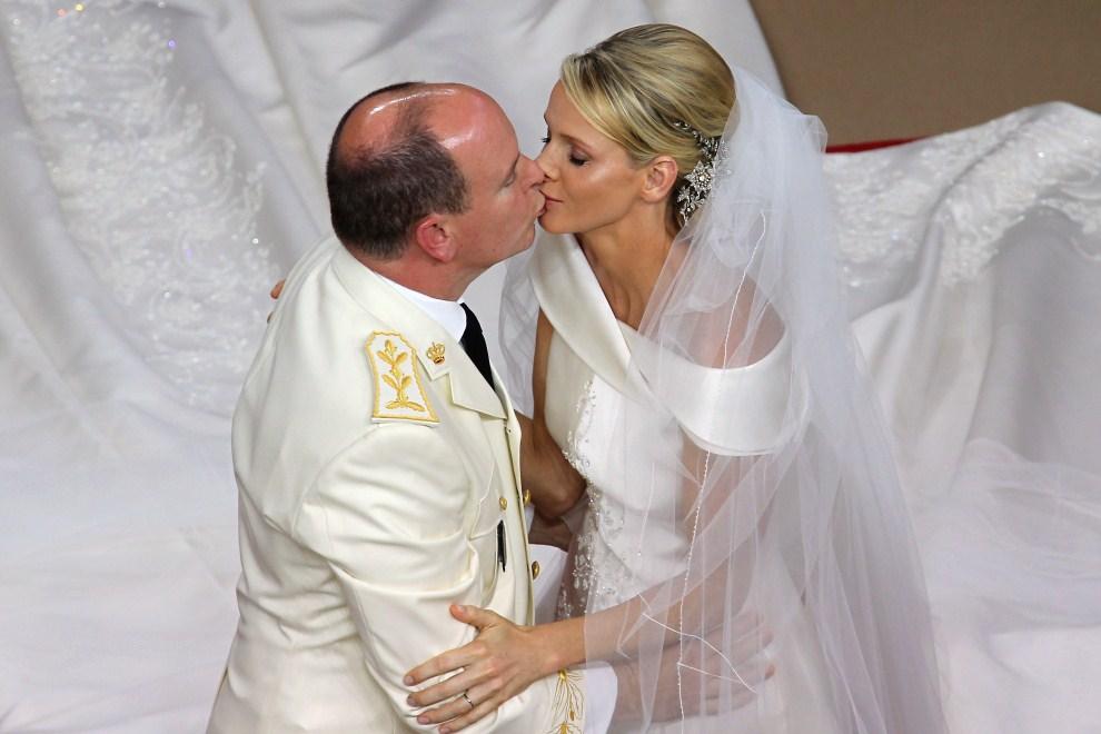 25. MONAKO, 2 lipca 2011: Ślub Księcia Alberta II z Charlene Wittstock. AFP PHOTO / VALERY HACHE