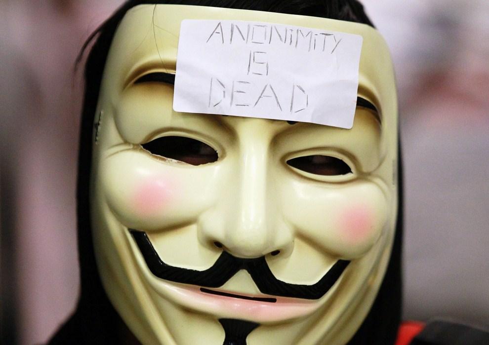 33. USA, San Francisco, 15 sierpnia 2011: Jeden z uczestników manifestacji w San Francisco. (Foto: Justin Sullivan/Getty Images)
