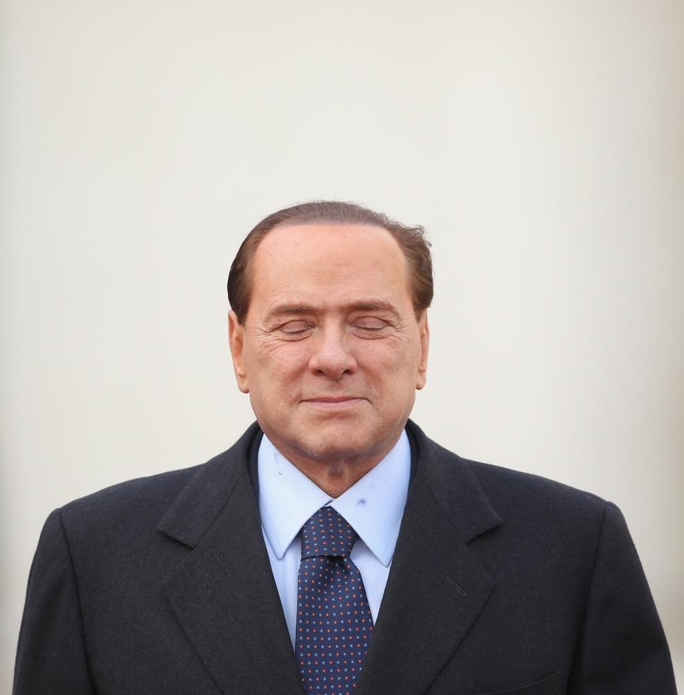 7.NIEMCY, Berlin, 12 stycznia 2011:  Silvio Berlusconi przed spotkanie z Angelą Merkel. (Foto:  Sean Gallup/Getty Images)