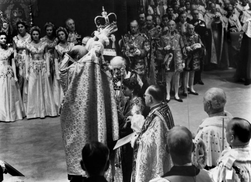 8.WIELKA BRYTANIA, Londyn, 2 czerwca 1953: Koronacja Elżbiety II w Opactwie Westminsterskim. AFP
