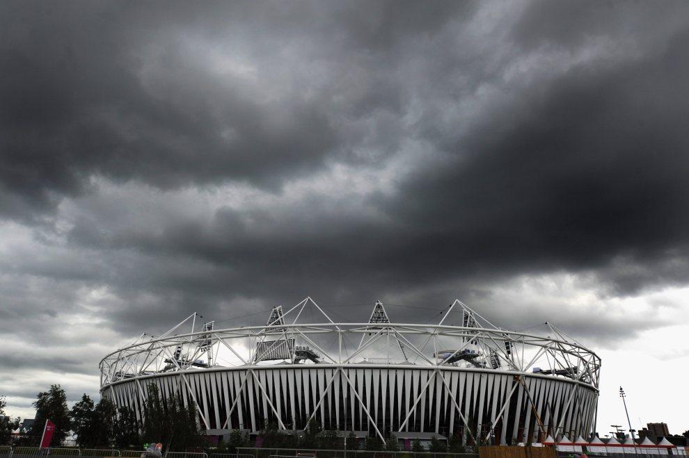 28.WIELKA BRYTANIA, Londyn, 17 lipca 2012: Widok na Stadion Olimpijski. (Foto: Michael Regan/Getty Images)