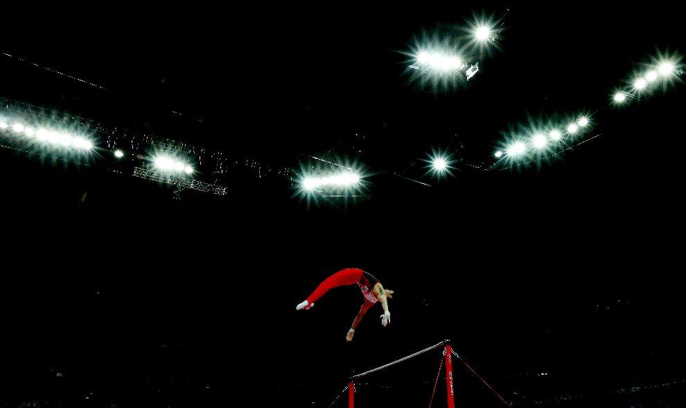 8.WIELKA BRYTANIA, Londyn, 2 sierpnia 2012: Kazuhito Tanaka w trakcie występu w North Greenwich Arena. (Foto: Ezra Shaw/Getty Images)