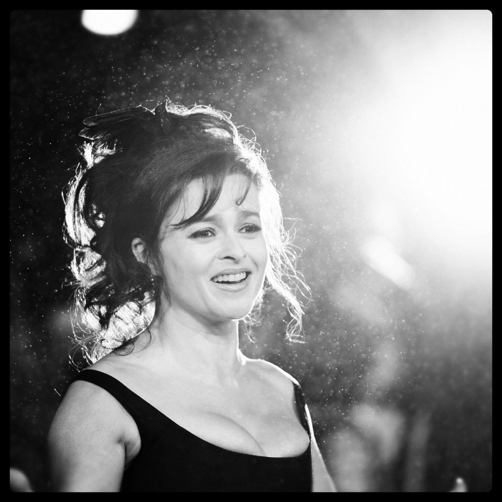 28.WIELKA BRYTANIA, Londyn, 21 października 2012: Helena Bonham Carter podczas gali 56. Festiwalu Filmowego. (Foto: Gareth Cattermole/Getty Images for   BFI/Instagram)