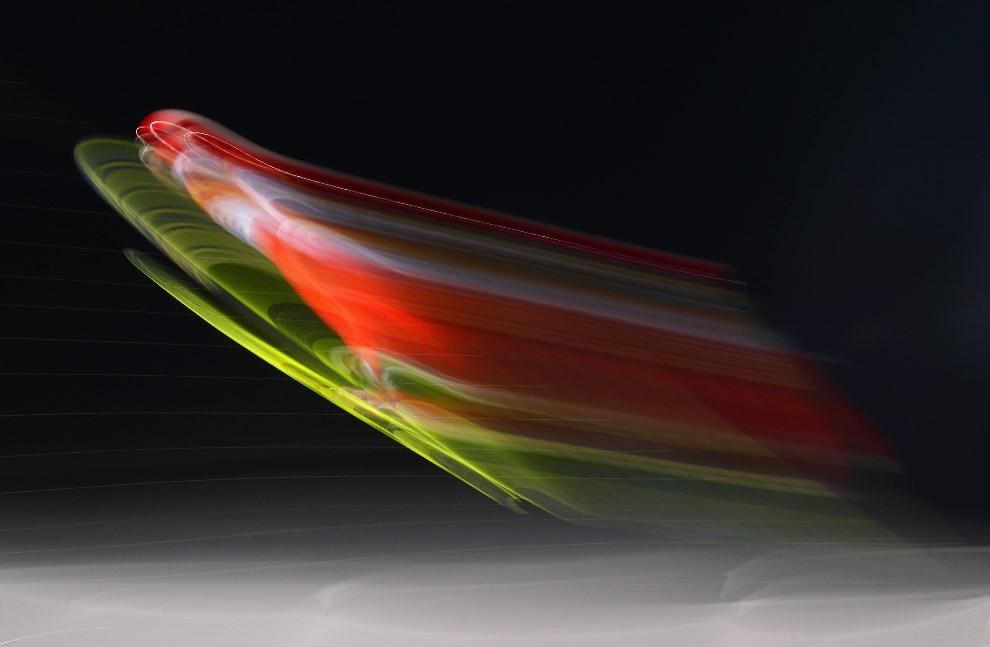 27.ROSJA, Soczi, 8 lutego 2014: Simon Ammann podczas sesji kwalifikacyjnej. (Foto: Lars Baron/Getty Images)