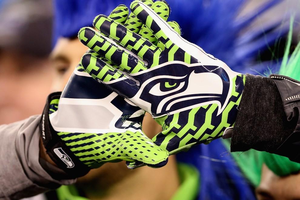 33.USA, East Rutherford, 2 lutego 2014: Kibice Seattle Seahawks cieszą się ze zdobytego mistrzostwa. (Foto: Christian Petersen/Getty Images)