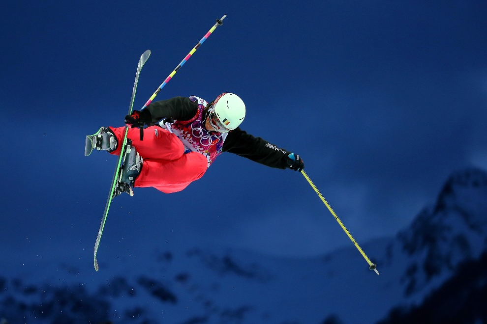 8.ROSJA, Soczi, 20 lutego 2014: Belgijka Katrien Aerts podczas przejazdu kwalifikacyjnego. (Foto: Streeter Lecka/Getty Images)