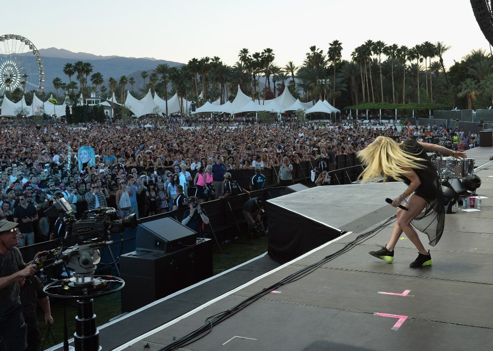 16.USA, Indio, 11 kwietnia 2014: Występ Ellie Goulding. (Foto: Kevin Winter/Getty Images for Coachella)