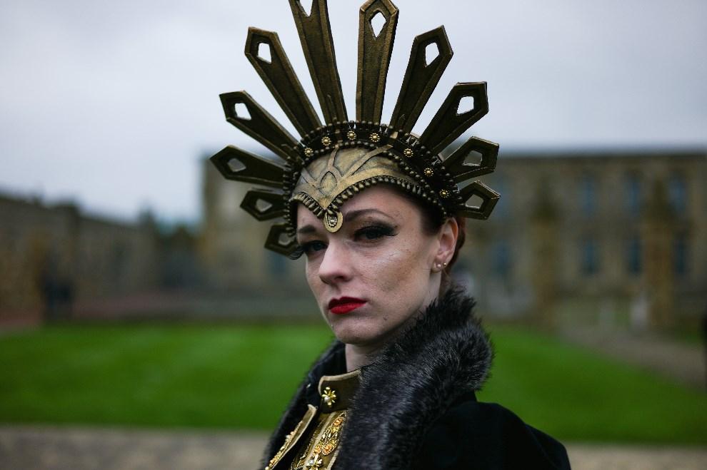 8.WIELKA BRYTANIA, Whitby, 26 kwietnia 2014: Amy Smith z Cheshire. (Foto: Ian Forsyth/Getty Images)