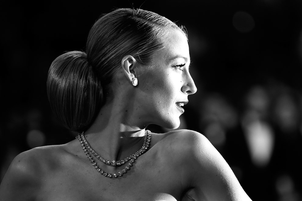 "12.FRANCJA, Cannes, 16 maja 2014: Blake Lively podczas premiery filmu ""Captives"". AFP PHOTO / VALERY HACHE"