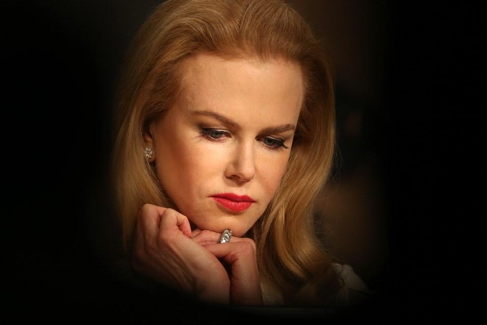 24.FRANCJA, Cannes, 14 maja 2014: Nicole Kidman podczas konferencji prasowej. AFP PHOTO / LOIC VENANCE