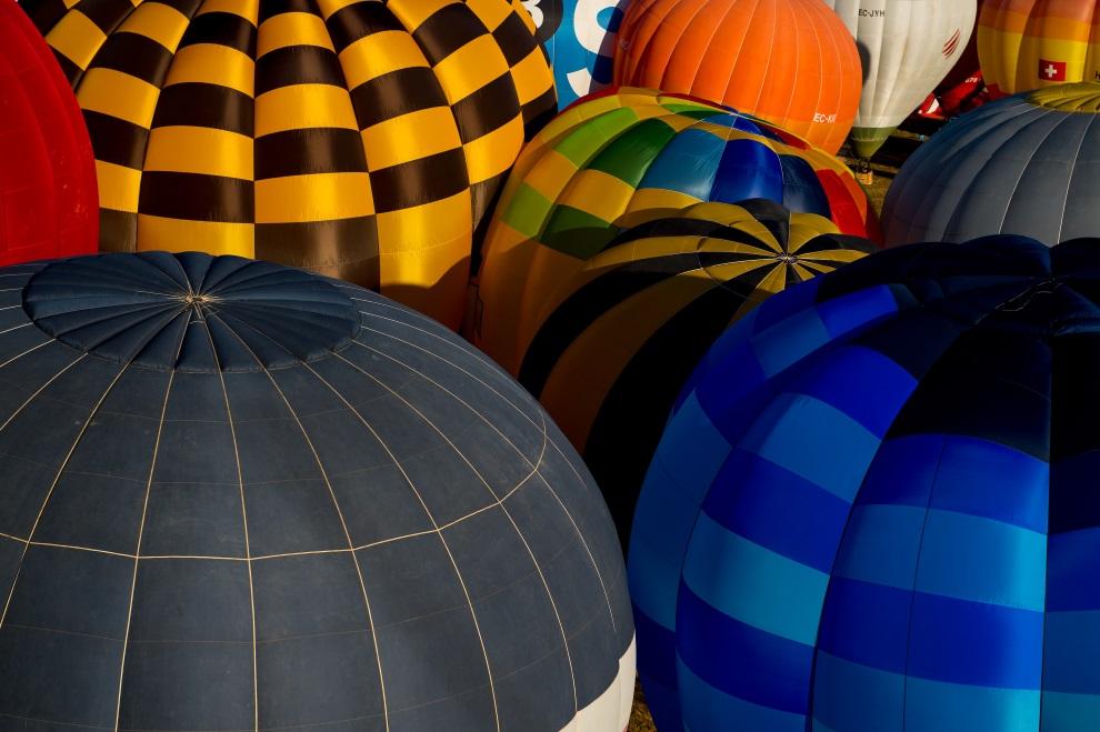 1.HISZPANIA, Igualada, 10 lipca 2014: Festiwal baloniarzy w Igualada. (Foto: David Ramos/Getty Images)