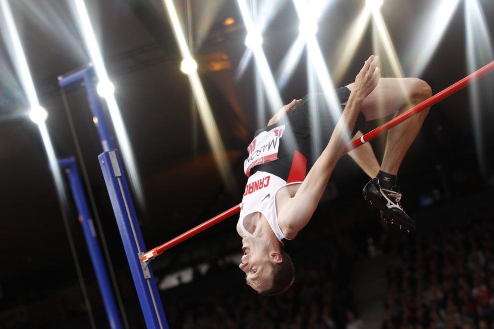 2.WIELKA BRYTANIA, Glasgow, 30 lipca 2014: Michael Mason podczas występu na Igrzyskach Wspólnoty Brytyjskiej. AFP PHOTO / ADRIAN DENNIS
