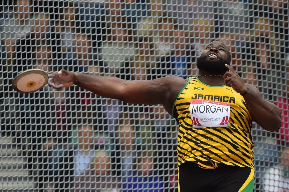 3.WIELKA BRYTANIA, Glasgow, 31 lipca 2014: Jason Morgan podczas występu na Igrzyskach Wspólnoty Brytyjskiej. AFP PHOTO / BEN STANSALL