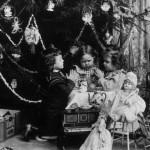 Boże Narodzenie na starych fotografiach