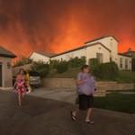 Pożary szalejące w Kalifornii