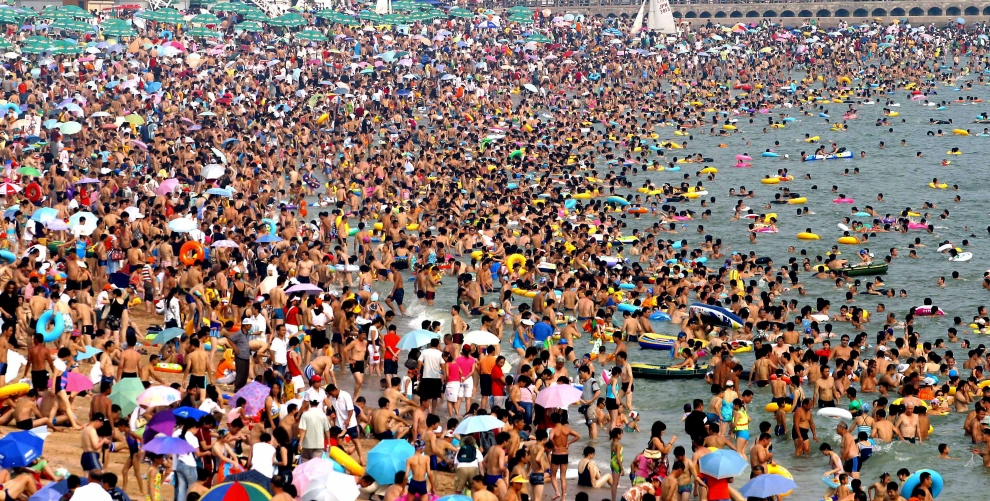 Most Crowded Beach In The United States