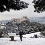 Śnieg w Grecji