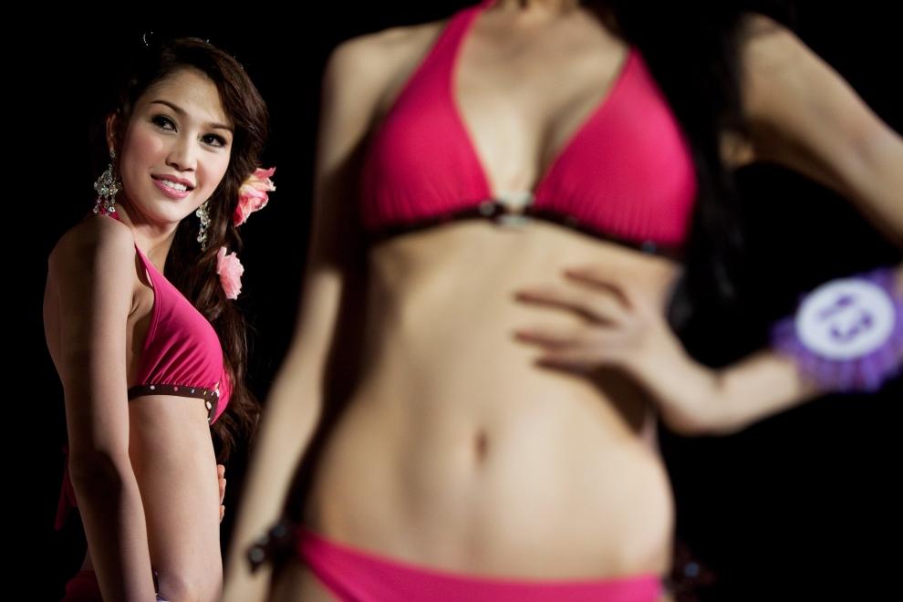 最漂亮的一个泰国人妖