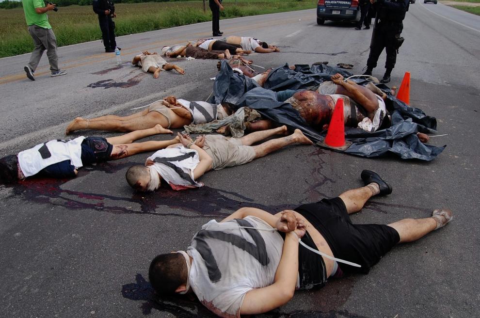 墨西哥品战争 犯罪心理吧